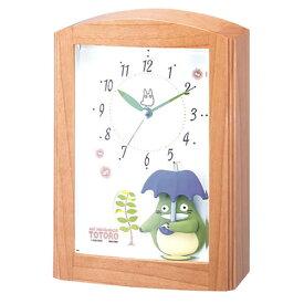 【正規品】RHYTHM リズム時計 クロック 4RM752MN06 CITIZEN シチズン トトロR752N 電波時計 置時計