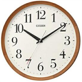 【正規品】リズム時計 クロック CITIZEN シチズン 8MY535-006 掛時計 電波時計