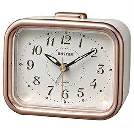 【正規品】リズム時計 クロック CITIZEN シチズン 8RA644SR13 目覚まし時計 ジャプレフルール