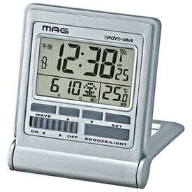 【正規品】NOA ノア精密 MAG マグ クロック T-714 SM-Z 電波目覚まし時計 ミネルバ