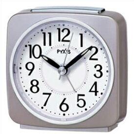 【正規品】SEIKO セイコー クロック NR440P 目覚まし時計 置時計 PYXIS ピクシス