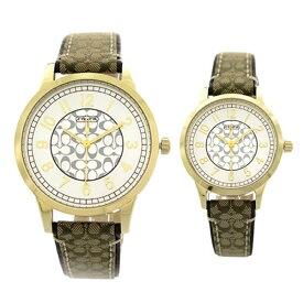 【並行輸入品】COACH コーチ 腕時計 14000043 ペアウォッチ ニュークラシック シグネチャー クオーツ