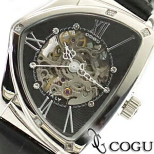 COGU コグ 腕時計 BS01T-BK レディース 自動巻き ブラック