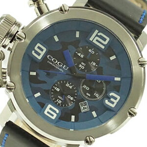 COGU コグ 腕時計 C61-CBL メンズ クロノグラフ