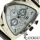 COGU コグ 腕時計 C43-WH メンズ クロノグラフ【楽ギフ_包装】