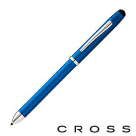 CROSS クロス 筆記具 AT0090-8+ 複合 マルチペン Tech3+ テックスリープラス BLUE メタリックブルー