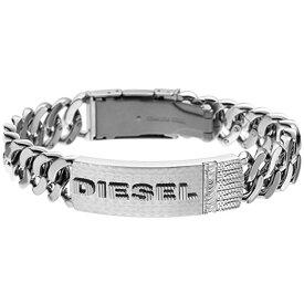 【並行輸入品】DIESEL ディーゼル DX0326040 メンズ ネックレス ペンダント ダブルプレート ドッグタグ シルバー