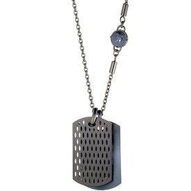 【並行輸入品】DIESEL ディーゼル DX0883060 メンズ ネックレス ペンダント ダブルプレート ドッグタグ ブルー