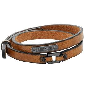 【並行輸入品】DIESEL ディーゼル DX0984040 メンズ ブレスレット ブラウン