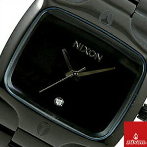 【レビュー記入確認後次回送料無料クーポン】ニクソン 腕時計 NIXON 時計 並行輸入品 A140-001 メンズ 男THE PLAYER プレイヤーオールブラック