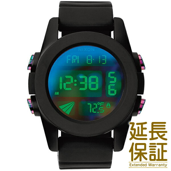 【レビュー記入確認後1年保証】ニクソン 腕時計 NIXON 時計 並行輸入品 A197-1630 メンズ THE UNIT ユニット BLACK/COSMOS ブラック/コスモス