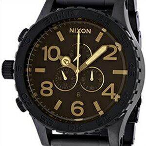 ニクソン 腕時計 NIXON 時計 並行輸入品 A083 1354 メンズ 51-30 CHRONO 51-30 クロノ MATTE BLK/ORANGE TINT マットブラック/オレンジティント