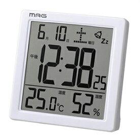 【正規品】NOA ノア精密 クロック T-726 WH-Z 目覚まし時計 MAG マグ カッシーニ