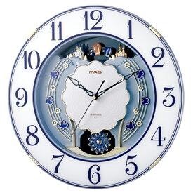 【正規品】NOA ノア精密 クロック W-726 BU 電波時計 掛時計 MAG マグ ルネッタ