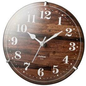 【正規品】NOA ノア精密 クロック W-731 BR-Z 掛時計 MAG 電波置掛両用クロック W-731