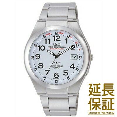 【国内正規品】Q&Q キュー&キュー 腕時計 CITIZEN シチズン CBM QQ HG12-204 メンズ SOLARMATE ソーラーメイト クロノグラフ