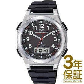 【国内正規品】Q&Q キュー&キュー 腕時計 MD12-305 メンズ SOLARMATE ソーラーメイト ソーラー 電波