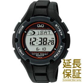 【国内正規品】Q&Q キュー&キュー 腕時計 CITIZEN シチズン CBM QQ MHS6-300 メンズ ソーラー電波時計 JAN:4966006060584