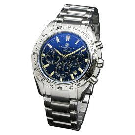 【正規品】SALVATORE MARRA サルバトーレ・マーラ 腕時計 SM18106-SSBLSV メンズ クロノグラフ 偏光ガラス