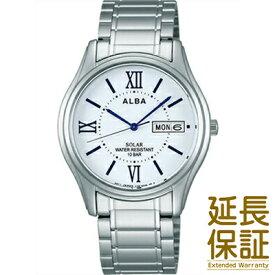 【国内正規品】ALBA アルバ 腕時計 SEIKO セイコー AEFD554 メンズ ソーラー ハードレックス