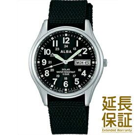 【国内正規品】ALBA アルバ 腕時計 SEIKO セイコー AEFD557 メンズ ソーラー ハードレックス