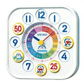 【正規品】SEIKO セイコー クロック CQ319W 掛置兼用時計 ドラえもん 知育時計 子供用