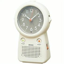 【正規品】SEIKO セイコー クロック EF506C 目覚まし時計 録音再生機能付