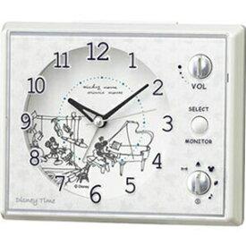 【正規品】SEIKO セイコー クロック FD478W 目覚まし時計 ディズニー ミッキー ミニー