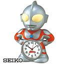 【正規品】SEIKO セイコー クロック JF336A キャラクタークロック ウルトラマン目覚ま...