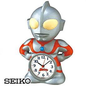 【正規品】SEIKO セイコー クロック JF336A キャラクタークロック ウルトラマン目覚まし時計