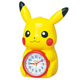 【正規品】SEIKO セイコー クロック JF379A 目覚まし時計 ポケットモンスター ポケモン ピカチュウ