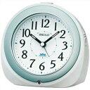 SEIKO セイコー クロック KR331W 目覚まし時計 自動点灯 電波時計 WHITE ホワイト