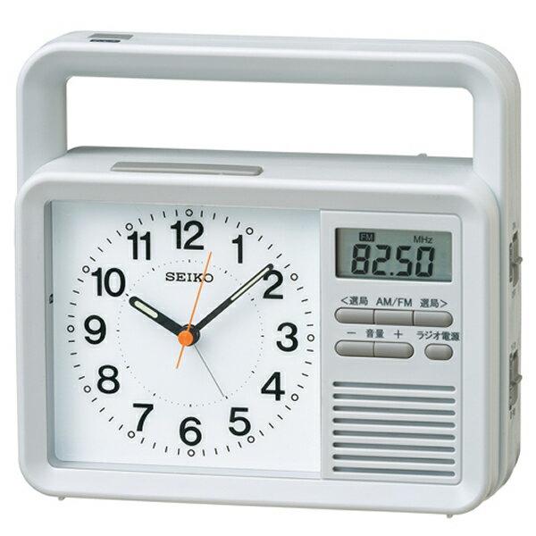 SEIKO セイコー クロック KR885N 目覚まし時計 多機能防災目覚まし時計 4517228034060