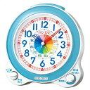 【スーパーSALE期間エントリーでポイント5倍!】SEIKO セイコー クロック KR887L 置時計 知育時計 子供用