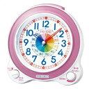 【スーパーSALE期間エントリーでポイント5倍!】SEIKO セイコー クロック KR887P 置時計 知育時計 子供用
