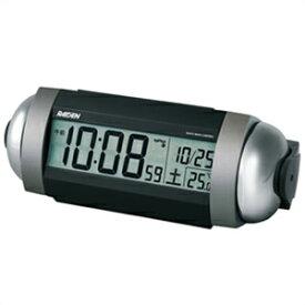 【正規品】SEIKO セイコー クロック NR530S 電波目覚まし時計 PYXIS ピクシス RAIDEN ライデン 大音量