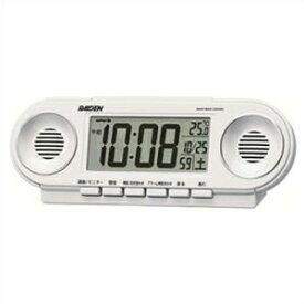 【正規品】SEIKO セイコー クロック NR531W RAIDEN ライデン 大音量アラーム 電波 目覚まし時計