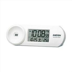 【正規品】SEIKO セイコー クロック NR532W 電波時計 大音量 デジタル 目覚まし時計 WHITE ホワイト