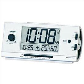 【あす楽】【アウトレット品】SEIKO セイコー クロック NR534W 目覚まし時計 置時計 電波時計 インテリア