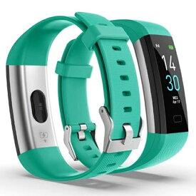 スマートウォッチ Smart Watch 腕時計 FT-GREEN メンズ レディース フィットネストラッカー IP68防水 iphone android 対応 血圧 着信通知