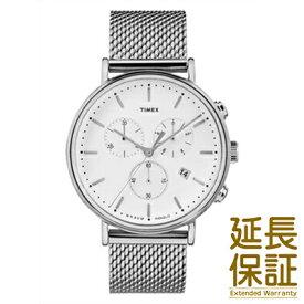 【並行輸入品】TIMEX タイメックス 腕時計 TW2R27100 ユニセックス Weekender ウィークエンダー Fairfield フェアフィールド クロノシルバーメッシュ