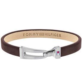 【並行輸入品】TOMMY HILFIGER トミーヒルフィガー 2790053 メンズ ブレスレット バングル ブラウン