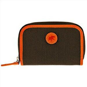 HUNTING WORLD ハンティングワールド 677435ADOBE-DB_OR メンズ 小銭入れ コインケース ブラウン オレンジ