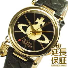 【並行輸入品】Vivienne Westwood ヴィヴィアンウエストウッド 腕時計 VV006BKGD レディース Orb オーブ BLACK×GOLD ブラック×ゴールド