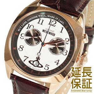 【レビュー記入確認後3年保証】ヴィヴィアンウエストウッド 腕時計 Vivienne Westwood 時計 並行輸入品 VV176WHBR メンズ クロノグラフ