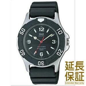 Q&Q腕時計(キュー&キュー)時計H950J002メンズ男CITIZEN(シチズン)文字盤カラーブラック
