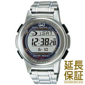 【国内正規品】Q&Q キュー&キュー 腕時計 CITIZEN シチズン CBM QQ MHS5-200 メンズ ソーラー 電波時計 クロノグラフ デジタルウォッチ JAN:4966006058895