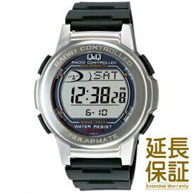 【国内正規品】Q&Q キュー&キュー 腕時計 CITIZEN シチズン CBM QQ MHS5-300 メンズ ソーラー 電波時計 クロノグラフ デジタルウォッチ JAN:4966006058901