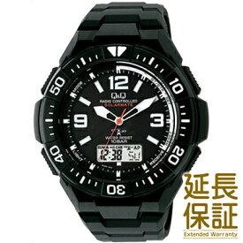 【国内正規品】Q&Q キュー&キュー 腕時計 CITIZEN シチズン CBM QQ MD06-305 メンズ SOLARMATE ソーラー電波 JAN:4966006063462
