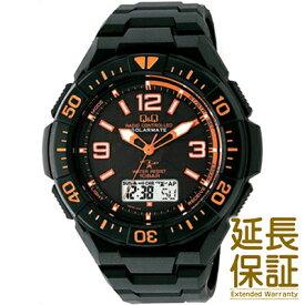 【国内正規品】Q&Q キュー&キュー 腕時計 CITIZEN シチズン CBM QQ MD06 315 メンズ SOLARMATE ソーラー電波 JAN:4966006063486